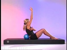 ▶ Pilates Mini-Ball Workout : DVD Sample - YouTube