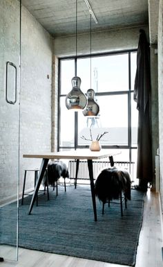 Lightyears showroom in Aarhus, Denmark -  Calabash pendants