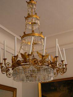 Yet another chandelier at Schloss Charlottenberg Berlin Germany