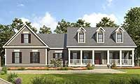 Appealing 3 Bed Country House Plan