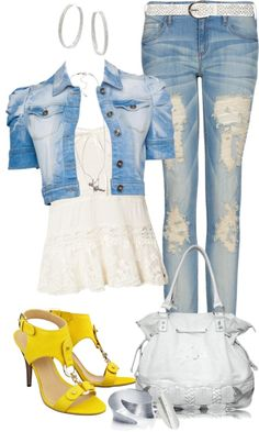"""""""Casual Sunny"""" by angela-windsor on Polyvore"""