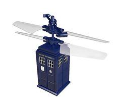 Tardis voadora de controle remoto é diversão garantida para fãs de Doctor Who