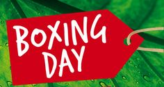 Happy Boxing Day! :)