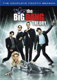 The big bang theory - #season 4 dvd johnny galecki, jim parsons, #kaley #cuoco, , View more on the LINK: http://www.zeppy.io/product/gb/2/291605274844/