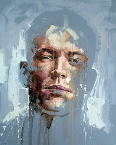 Jimmy Law is a self-taught artist and painter of expressive portraits and expressive nudes and resides in Cape Town, South Africa. Abstract Faces, Abstract Portrait, Portrait Art, Painting Inspiration, Art Inspo, Jimmy Law, Photocollage, A Level Art, Human Art