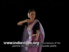 Manipuri dance Bimbavati Devi Radha Roop Varnam Manipur India