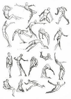 Male Drawing Poses | Male Poses Reference