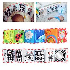 YeahiBaby Clipon Pram Book for Baby Stroller Pram Carriage and Crib Entertainment and Development Ladybug Pattern ** Click image to review more details. (This is an affiliate link)