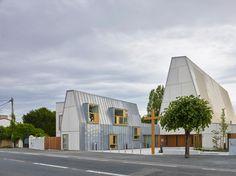 Église Saint-Vincent-de-Paul, Chapel, France 2015. Architect: Magnum Architectes & Urbanistes, prefabrication: Naullet, photo: S. Chalmeau.