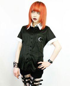 CustomDesignNine.com #Gothgirl, #Gothgoth, #Gothoutfit, #Restyle, #Rockfashion, #Rockoutfit, #Spiderrockweb, #ロックファッション