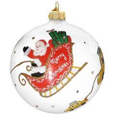 Michael Storrings for Landmark Creations Santa Nyc Sleigh Taxi... (€44) ❤ liked…