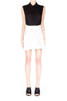 Cameo The Label | New Day Skirt | Ivory | Shop Now | BNKR |