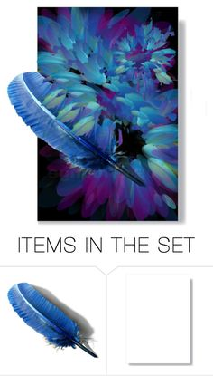"""""""Feathering"""" by lovetodrinktea ❤ liked on Polyvore featuring art"""