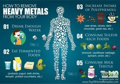 how to remove heavy metals from your body - Top 10 Remedies