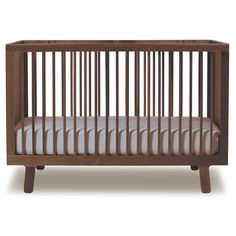 sparrow crib in walnut from posh tots