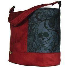A personal favorite from my Etsy shop https://www.etsy.com/listing/468607826/skull-bag-skull-purse-skull-handbag