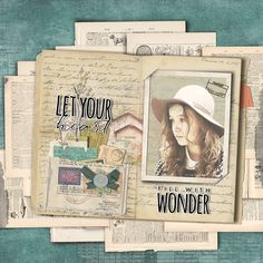 Let your heart fill with wonder Heritage Scrapbook Pages, Scrapbook Layouts, Page Layout, Just Amazing, Project Life, Digital Scrapbooking, Community, Let It Be, Personalized Items