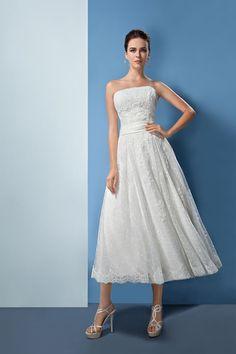 Orea Sposa 2017 Tea Length  Wedding Dress L837
