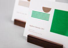 Typeface Calendar, 2017 on Behance