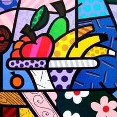 Lunch by Romero Britto.