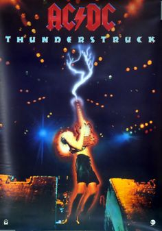 For Sale - AC/DC Thunderstuck UK Promo poster - See this and 250,000 other rare & vintage vinyl records, singles, LPs & CDs at http://eil.com