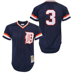 43dae6aae1920 Detroit Tigers Alan Trammell Authentic 1984 BP Jersey by Mitchell & Ness  - MLB.