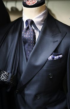 Navy Mens Suit