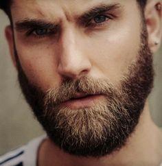 Beard Boy, Beard No Mustache, Beard Styles For Men, Hair And Beard Styles, Handsome Bearded Men, Bearded Guys, Short Beard, Awesome Beards, Facial Hair