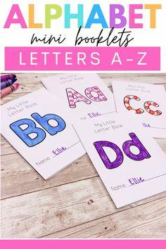 Letter Recognition Kindergarten, Letter Recognition Games, Preschool Letters, Kindergarten Writing, Kindergarten Activities, Teaching The Alphabet, Alphabet For Kids, Alphabet Books, Spanish Alphabet