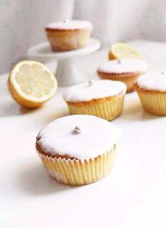 lemon and white chocOlate muffins