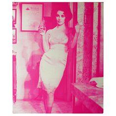 Elizabeth Taylor in pink