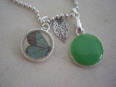 Summertime Pendant by louloupoppy on Etsy, $10.00