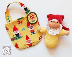 Zwerg/Gnomie-gelb by Polar Bear Creations Dolls, via Flickr