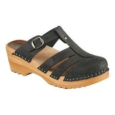 8d232b0bb5 The Mary Jane sandal clog resembles the iconic Mary Jane style shoe in a  clog.