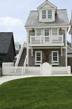I'd love one of these! Sweet coastal beachy house :)