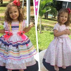 Quem quer um vestido caipira 2 em 1, coloca o dedo aqui!!!!! Vestido caipira luxo! Usou no São João, depois vc pode usar como um vestido de festa! Não é demais? Primeira remessa chegando no final dessa semana! emojiemojiemoji️emoji #vestidoinfantil #vestidocaipira #vestidoparafestajunina #vestidodequadrilha #caipiraluxo #SãoJoão #lelisbella #surpreenda