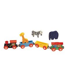 Take a look at this Animal Train Set by Wooden Tracks B2B on #zulily today!