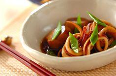 里芋とイカの煮物【E・レシピ】料理のプロが作る簡単レシピ/2009.10.12公開のレシピです。