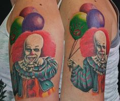 "29 Pennywise From Stephen King's ""It"" Tattoos 