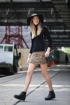 What was everyone wearing at London Fashion Week today? Skirts with everything! Get the look straight from the street stylers.