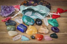 Crystals & gemstones for childbirth, postpartum, & beyond - description of what each provides included