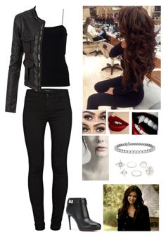 """My Halloween costume"" by graciem1819 on Polyvore featuring J Brand, T By Alexander Wang, Doublju, Givenchy, Bantu, Charlotte Tilbury, Blue Nile and Charlotte Russe"