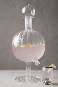 Garonne Beverage Dispenser #anthropologie
