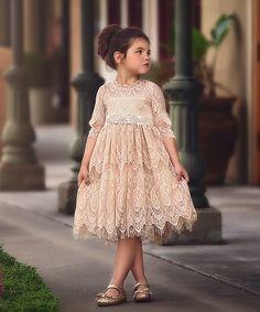 Trish Scully Child Butterscotch Bella Rafaella Dress - Infant, Toddler & Girls   zulily