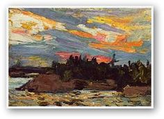 Landscape, abstract, contemporary, figurative or floral. One of the largest collections of Tom Thomson and the Group of Seven prints in Canada. Canadian Painters, Canadian Artists, Nocturne, Art And Craft Design, Design Art, Emily Carr Paintings, Tom Thomson Paintings, Country Art, North Country
