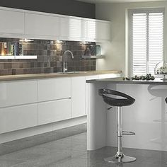 Best 1000 Images About White Gloss Kitchens On Pinterest 640 x 480