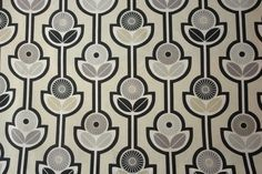 Scandinavian Fabric Linen fabric Scandinavian design Swedish fabric Spira Julia