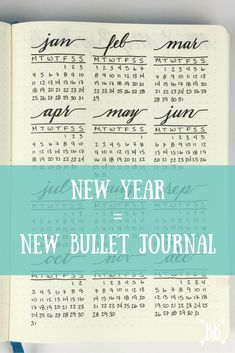 With the new year right around the corner, I thought I'd walk you through my new Bullet Journal set-up for 2016! :)