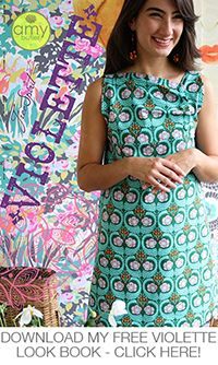 Amy Butler Violette fabrics are in at Quiltessential Co.