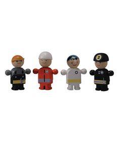 Love this Rescue Crew Figures on #zulily! #zulilyfinds